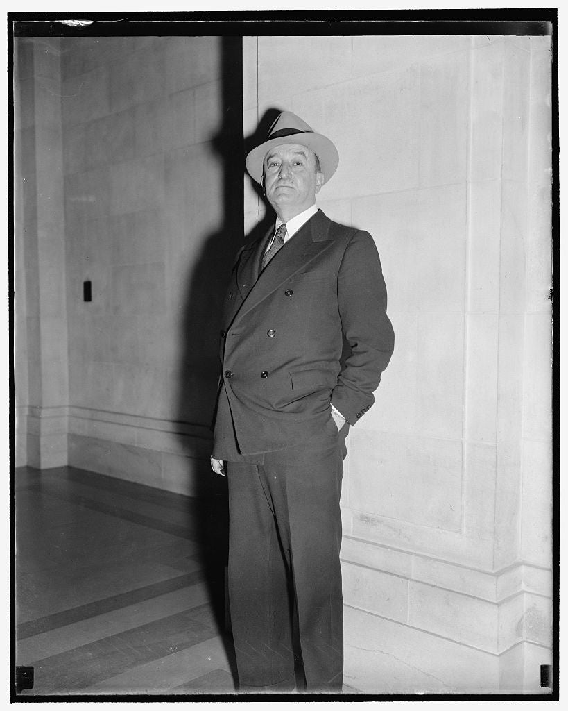 8 x 10 Reprinted Old Photo of Rca Executive Washington, D.C., Nov. 15. Edward F. Mcgrady, Former Assistant Secretary Of Labor But Now In Charge Of Labor Relations For The Radio 1938 Harris & Ewing 80a