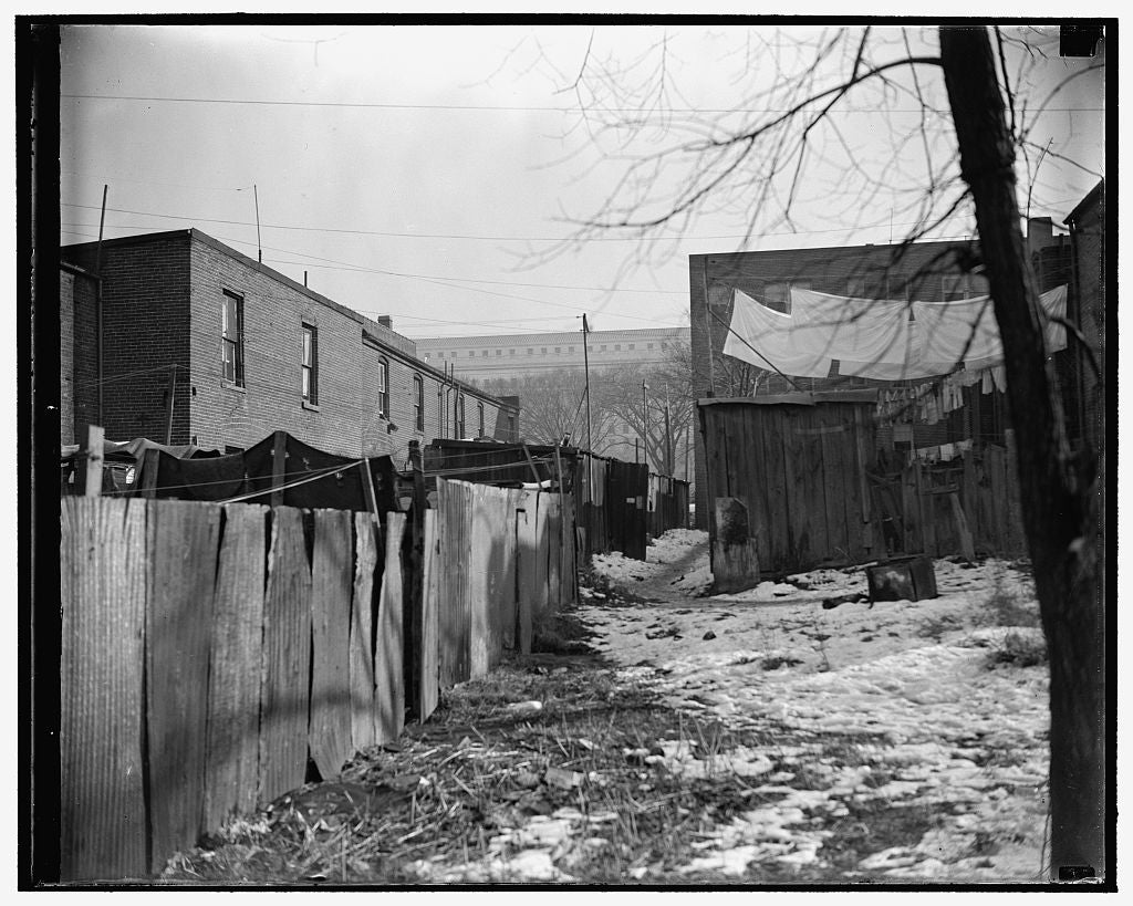 8 x 10 Reprinted Old Photo of President Roosevelt Approves D.C. Low Rent Housing Program. Capital Slums To Go. Washington, D.C., Nov. 30. President Roosevelt's Approval Of The  1938 Harris & Ewing 75a
