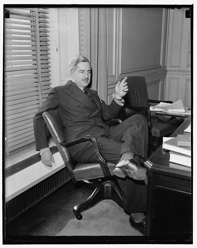 8 x 10 Reprinted Old Photo of Marshall Dimock, Assistant Secretary Of Labor 1937 Harris & Ewing 09a