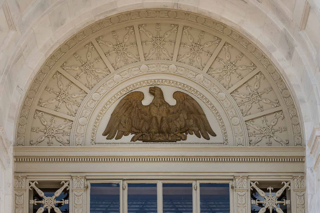 18 x 24 Photograph reprinted on fine art canvas  of Eagle detail Federal Building and U.S. Courthouse Gainesville Georgia  r33 41913 by Highsmith, Carol M.,