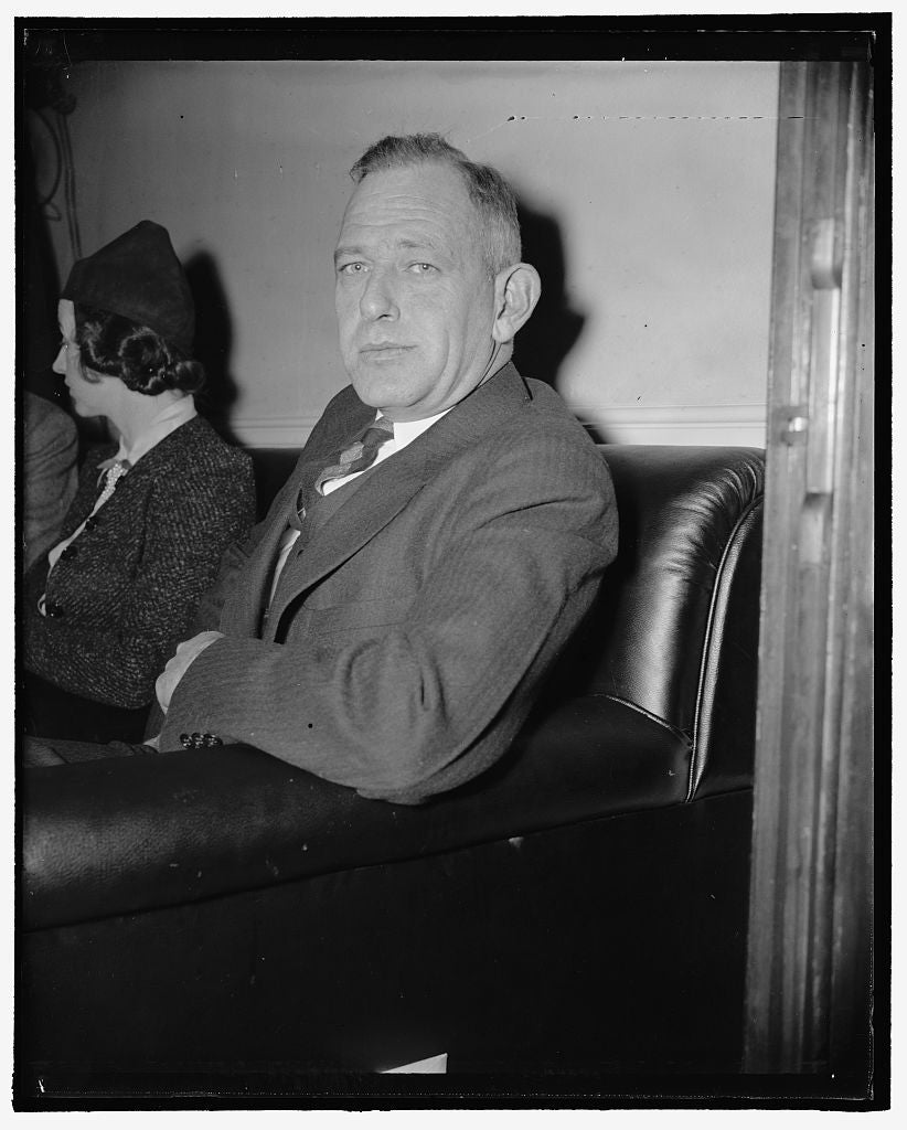 8 x 10 Reprinted Old Photo of Cornelius H. Bull, Genl. Counsel, American Veterans' Association 1937 Harris & Ewing 43a