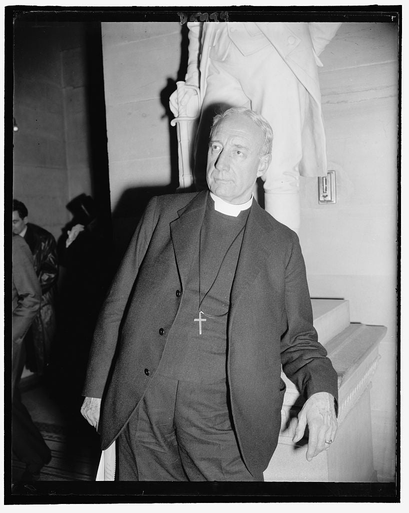 8 x 10 Reprinted Old Photo of Rev. Ze Barney Phillips, Chaplain Of U.S. Senate, March 1939 1937 Harris & Ewing 55a