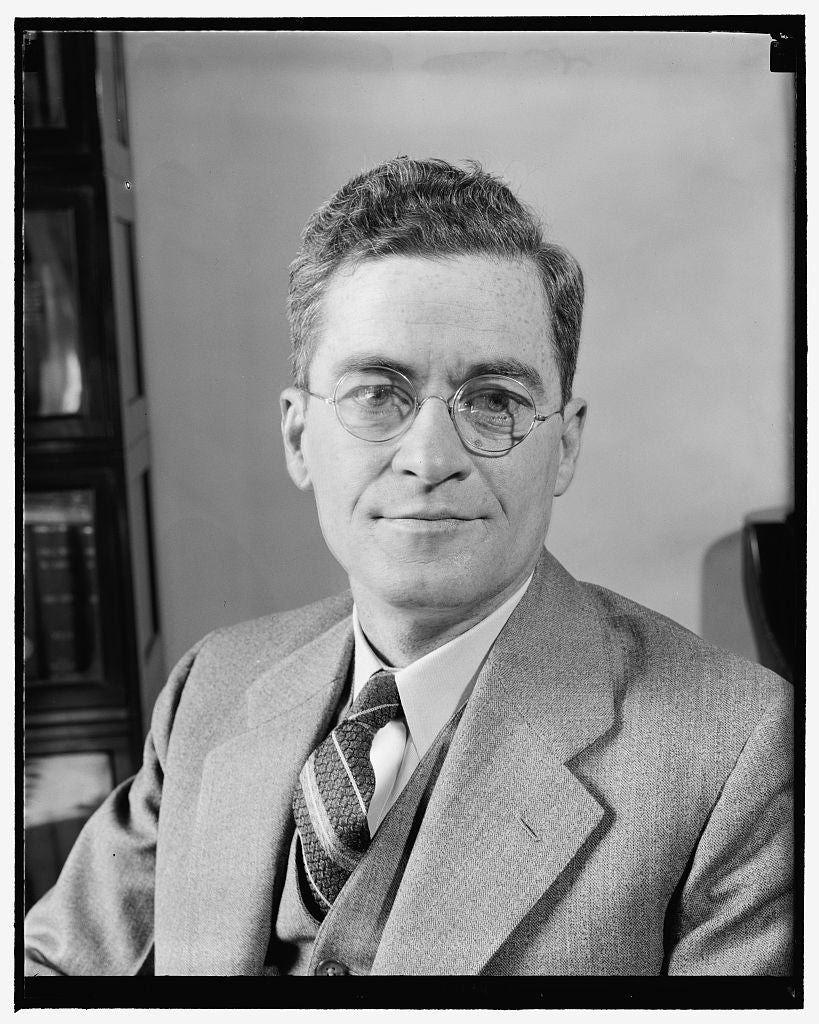 8 x 10 Reprinted Old Photo of New Deputy Comptroller Of Currency. Washington, D.C., May 6. A.J. Mulroney Was Yesterday Appointed A Deputy Comptroller Of The Currency By Secreta 1939 Harris & Ewing 21a