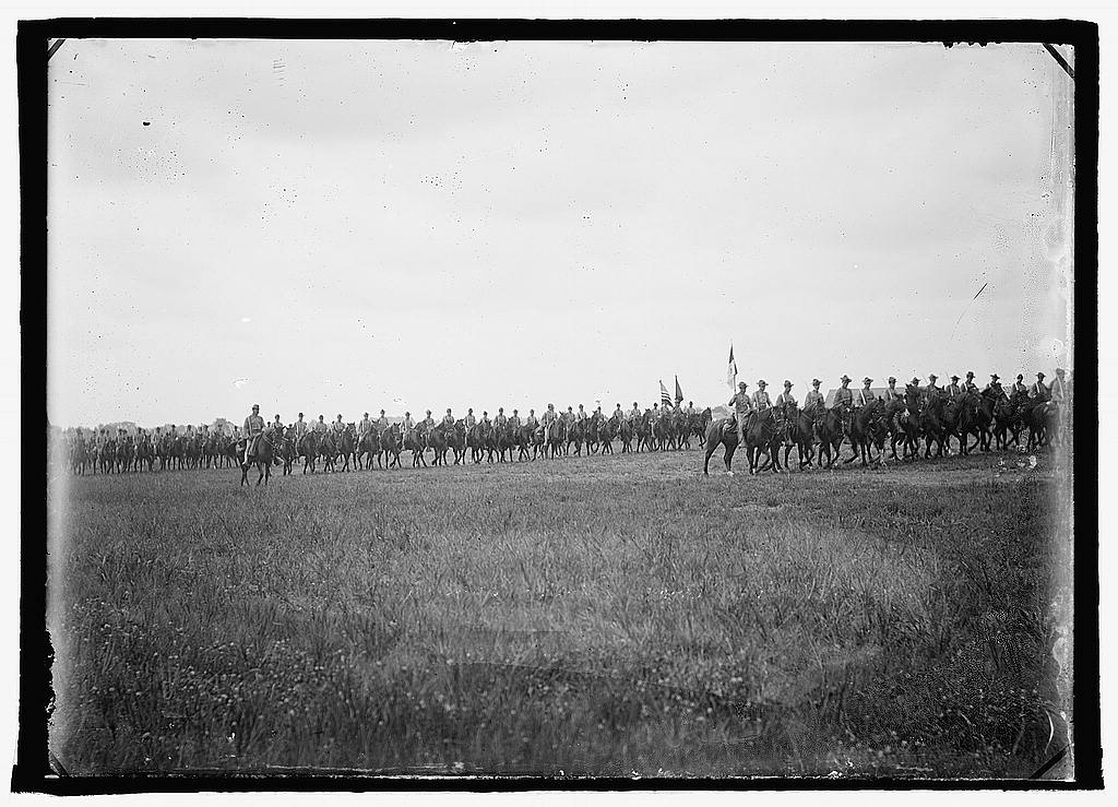 16 x 20 Reprinted Old Photo ofU.S. Army, 15th U.S. Cavalry 1925 National Photo Co  18a