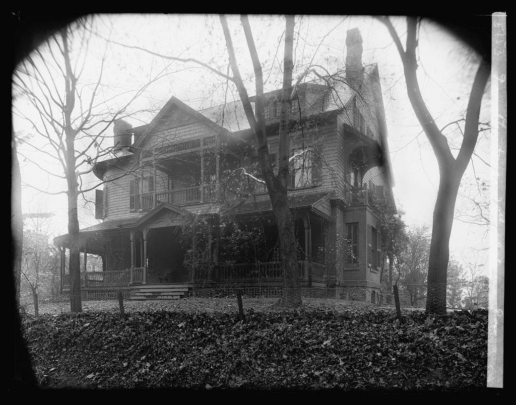 16 x 20 Reprinted Old Photo ofTumulty house, 20th & Kalorama Rd., [Washington, D.C. 1921 National Photo Co  73a