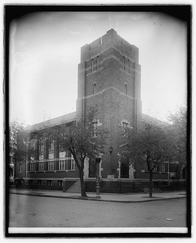 16 x 20 Reprinted Old Photo ofMetropolitan Baptist Church, [Washington, D.C. 1921 National Photo Co  77a