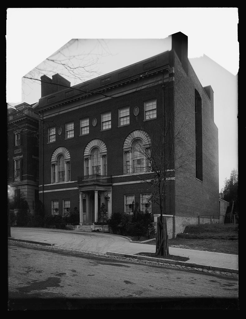 16 x 20 Reprinted Old Photo ofWilson house, 2340 S [St.], N.W., [Washington, D.C. 1921 National Photo Co  67a