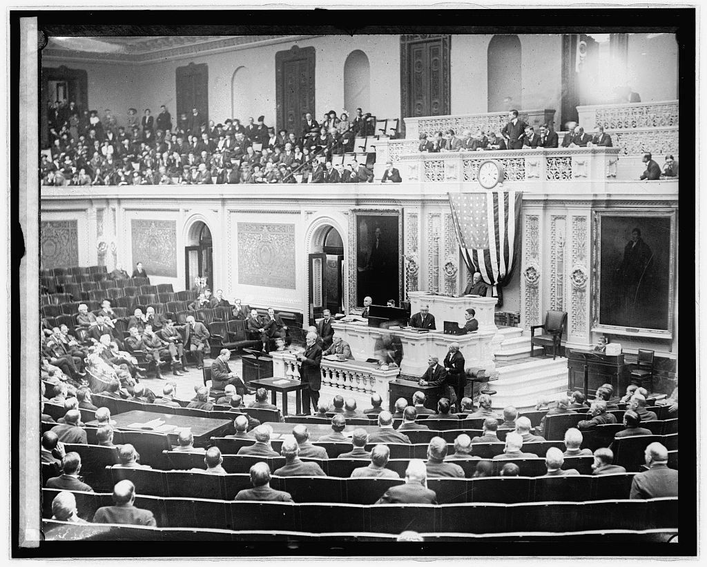 16 x 20 Reprinted Old Photo ofUncle Joe on floor of House, [Washington, D.C. 1921 National Photo Co  74a