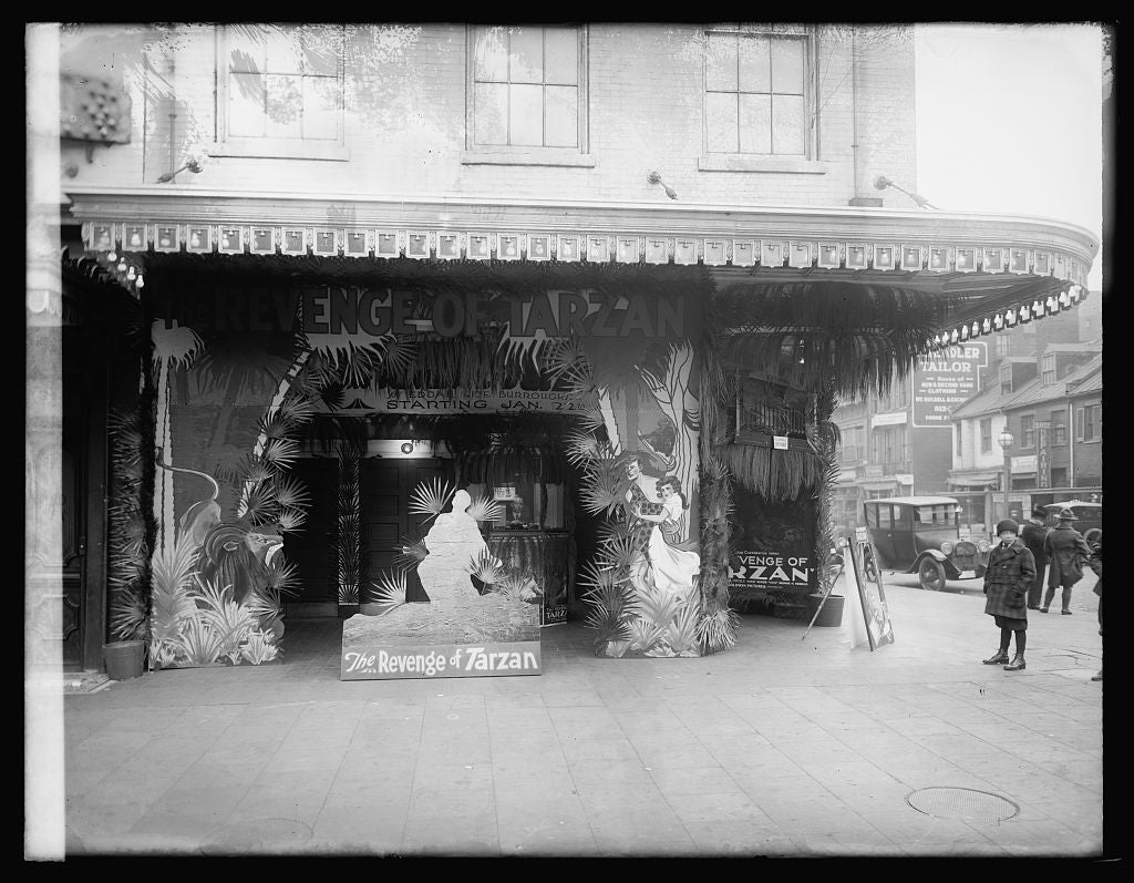16 x 20 Reprinted Old Photo ofCriterion Theater, [Washington, D.C. 1921 National Photo Co  98a