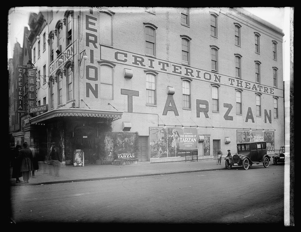 16 x 20 Reprinted Old Photo ofCriterion Theater, [Washington, D.C. 1921 National Photo Co  99a
