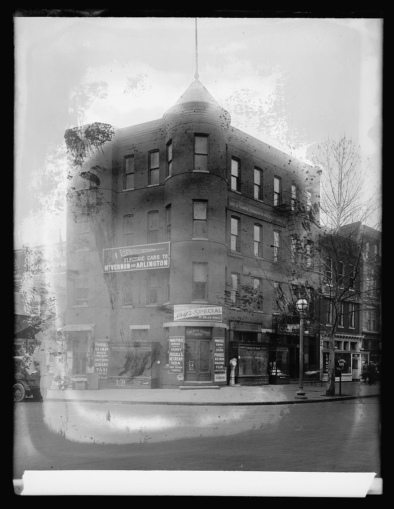 16 x 20 Reprinted Old Photo ofStandard Eng., Minister Bldg., 12th St. [Washington, D.C. 1921 National Photo Co  29a