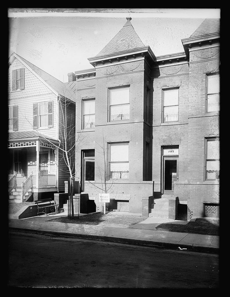 16 x 20 Reprinted Old Photo of1469 Monroe St., [Washington, D.C.], Star 1921 National Photo Co  33a