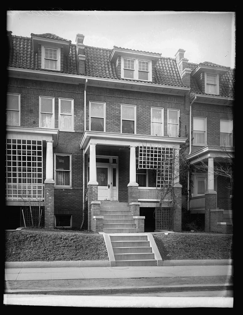 16 x 20 Reprinted Old Photo of2722 Ontario Rd., [Washington, D.C. 1921 National Photo Co  45a