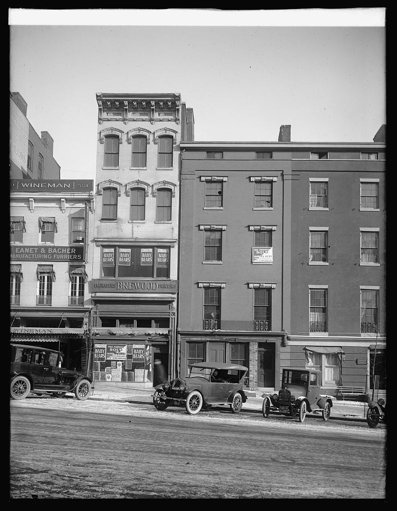 16 x 20 Reprinted Old Photo of517-19 13 St., [Washington, D.C.] 1922 National Photo Co  48a
