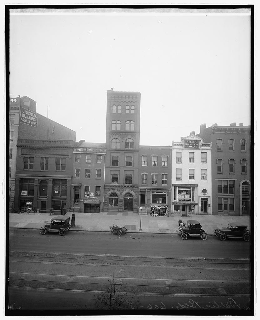 16 x 20 Reprinted Old Photo ofBaltic bldg., 606 F, [Washington, D.C.] 1922 National Photo Co  05a