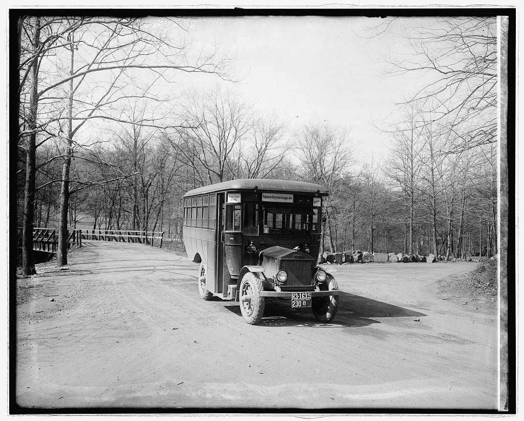 16 x 20 Reprinted Old Photo ofUltimate Sales & Service bus 1922 National Photo Co  14a
