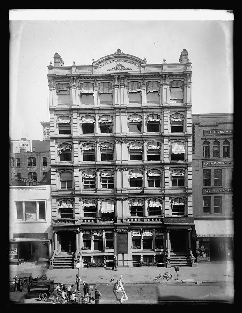 16 x 20 Reprinted Old Photo ofAdams bldg. 1922 National Photo Co  52a