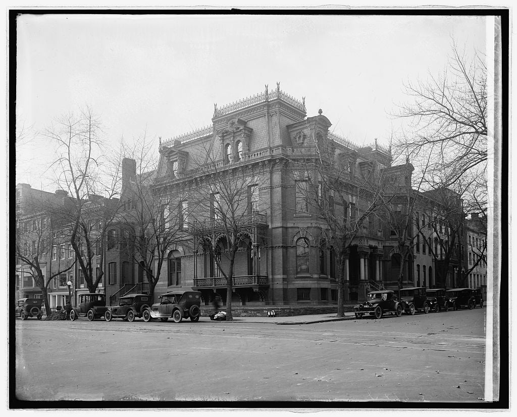 16 x 20 Reprinted Old Photo ofS.W. corner, 17th & I, [Washington, D.C.] 1922 National Photo Co  03a