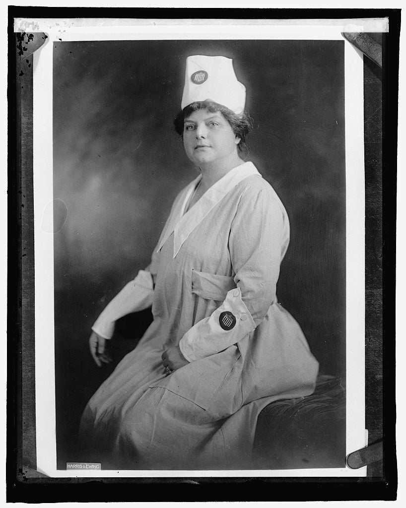 16 x 20 Reprinted Old Photo of Mrs. Thos. Watt Gregory, Food Adm. 1910 National Photo Co  51a
