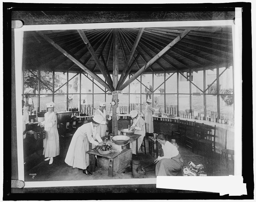 16 x 20 Reprinted Old Photo of Community Cannery, Asheville, N.C. 1910 National Photo Co  52a