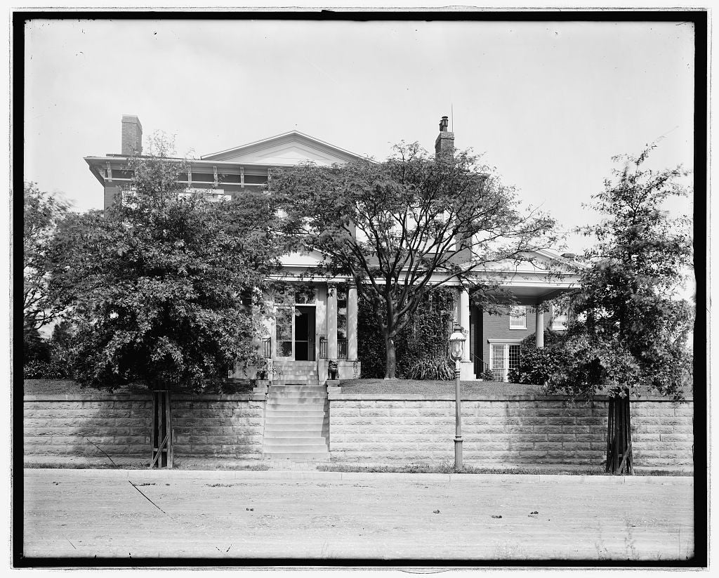 16 x 20 Reprinted Old Photo ofW.J. Bryan house 1923 National Photo Co  25a
