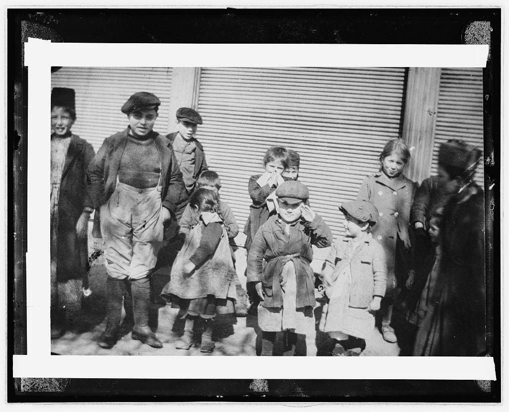 16 x 20 Reprinted Old Photo ofChildren 1923 National Photo Co  81a