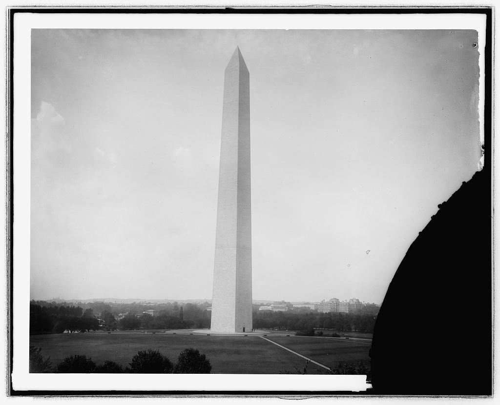 16 x 20 Reprinted Old Photo ofWash. Monument, [Washington, D.C. 1923 National Photo Co  86a