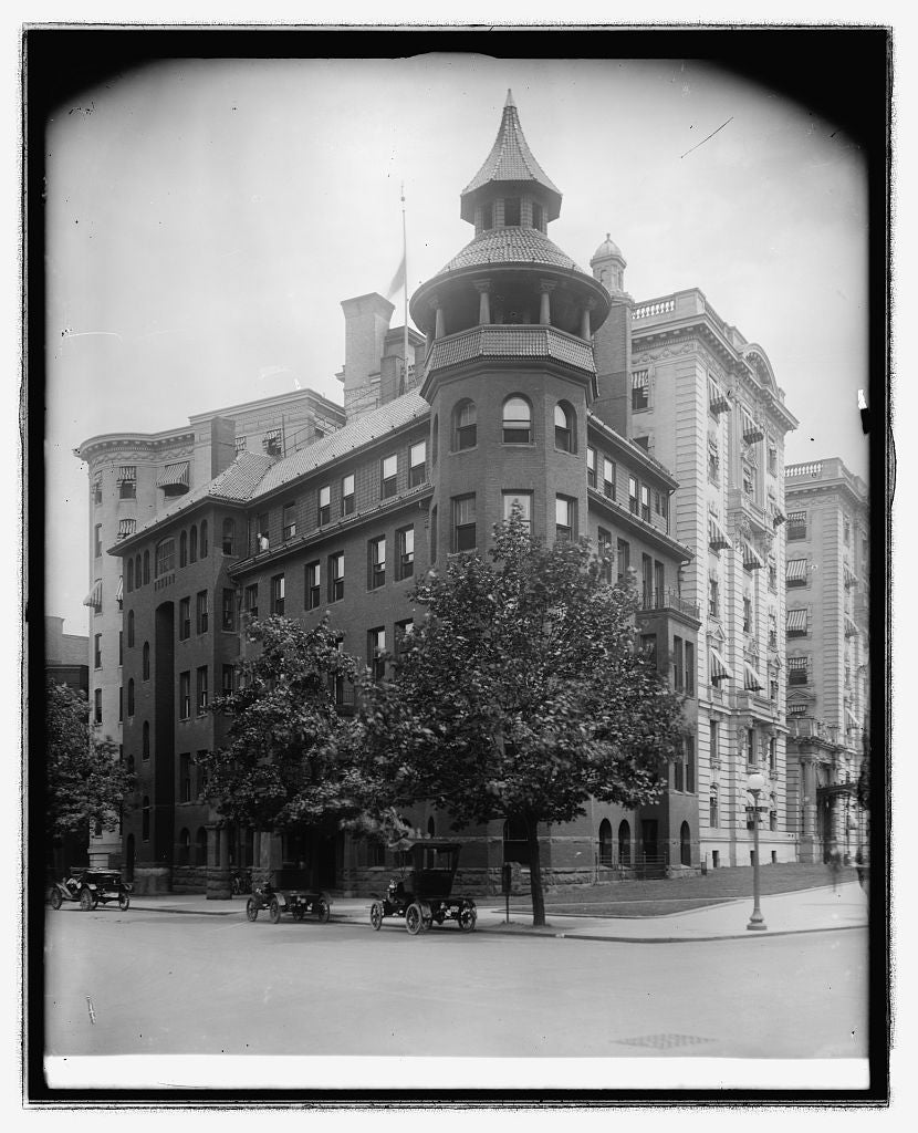 16 x 20 Reprinted Old Photo ofArmy & Navy Bldg. Conn. Ave. & I, [Washington, D.C. 1923 National Photo Co  87a