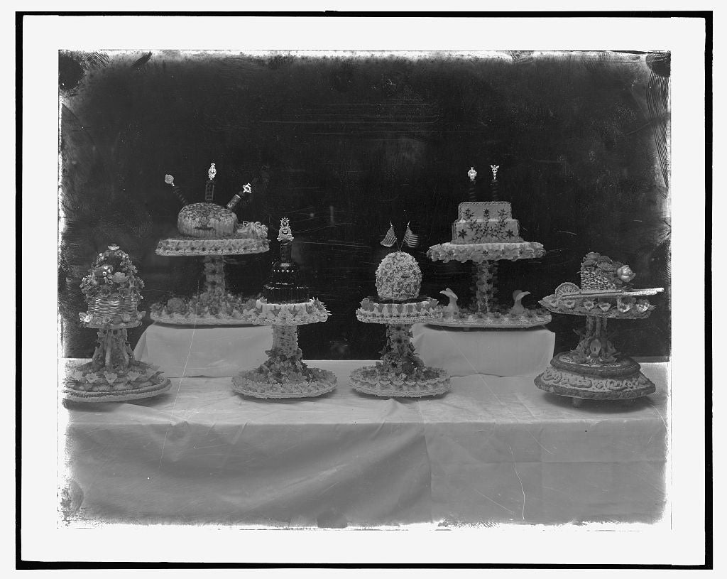 16 x 20 Reprinted Old Photo ofSet pieces, Arlington Hotel, [Washington, D.C. 1923 National Photo Co  05a