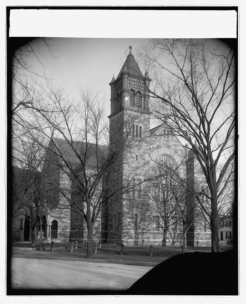 16 x 20 Reprinted Old Photo ofNo. Carolina Ave. Methodist Church, [Washington, D.C. 1923 National Photo Co  25a