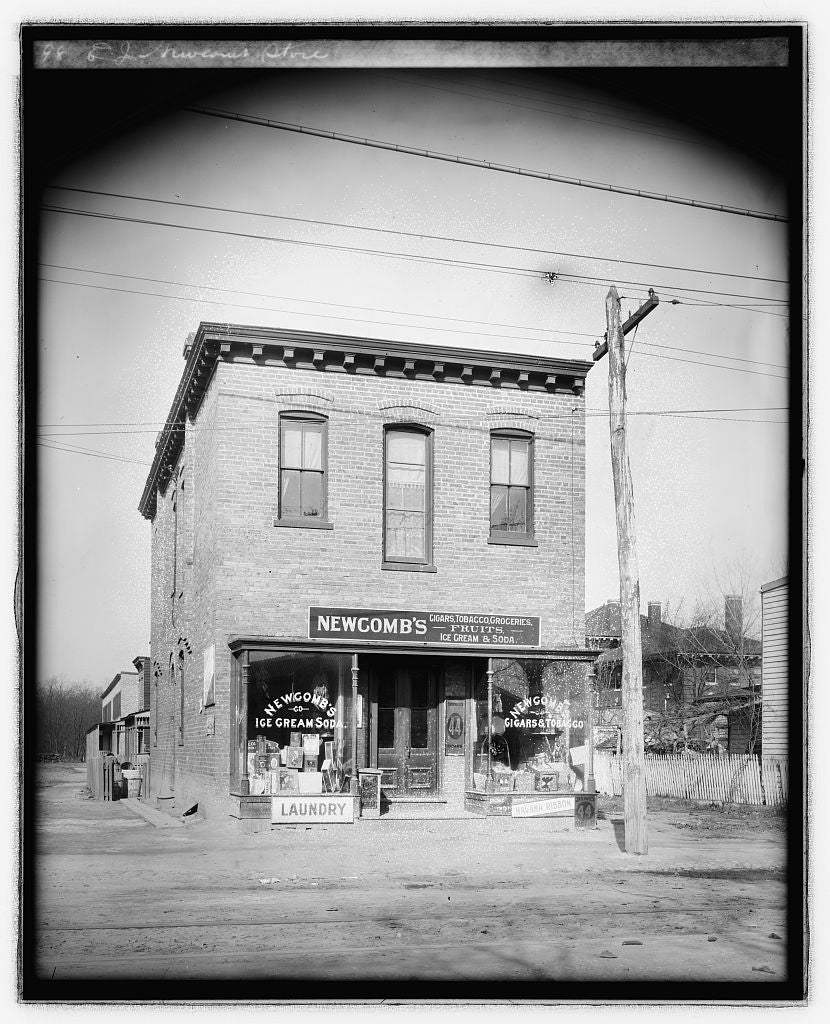 16 x 20 Reprinted Old Photo ofE.J. Newcomb store 1923 National Photo Co  29a