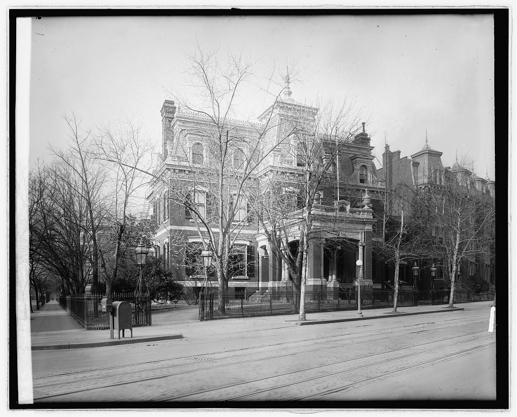 16 x 20 Reprinted Old Photo ofBritish Embassy, [Washington, D.C. 1923 National Photo Co  39a