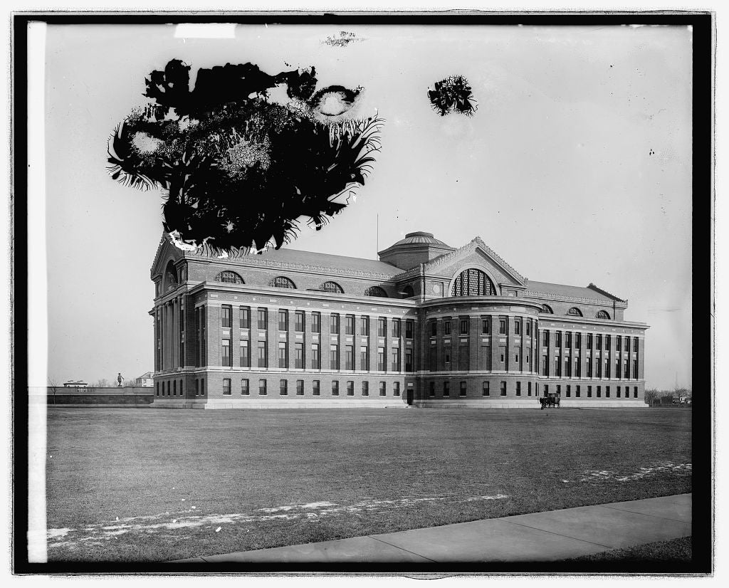 16 x 20 Reprinted Old Photo ofWar College, [Washington, D.C. 1923 National Photo Co  47a