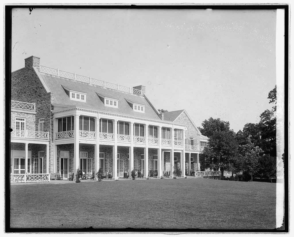 16 x 20 Reprinted Old Photo ofChevy Chase Club, [Chevy Chase, Maryland 1923 National Photo Co  66a
