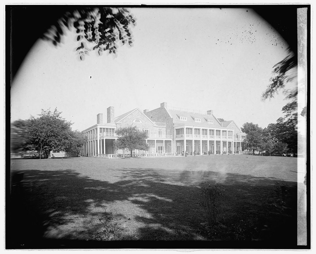 16 x 20 Reprinted Old Photo ofChevy Chase Club, [Chevy Chase, Maryland 1923 National Photo Co  67a
