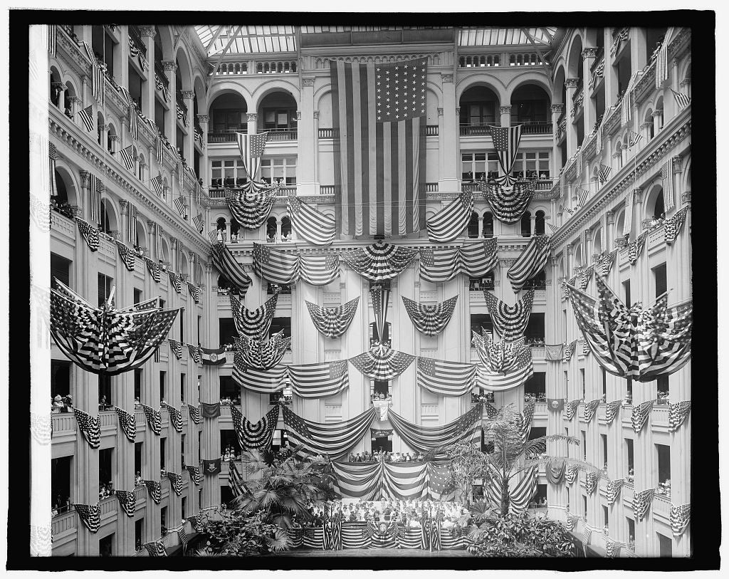 8 x 10 Reprinted Old Photo of Flag Day, P.O. Dept., [Washington, D.C.], 1914 1918 National Photo Co  89a