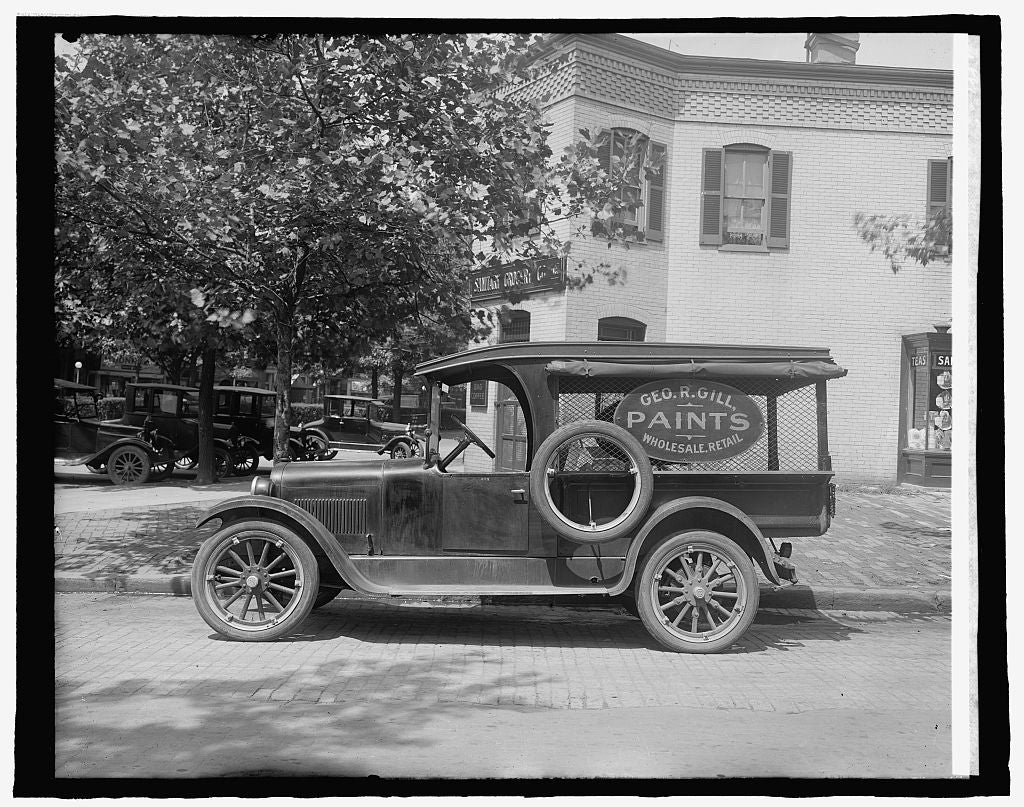 8 x 10 Reprinted Old Photo of Semmes Motor Co., [Washington, D.C. 1917 National Photo Co  26a