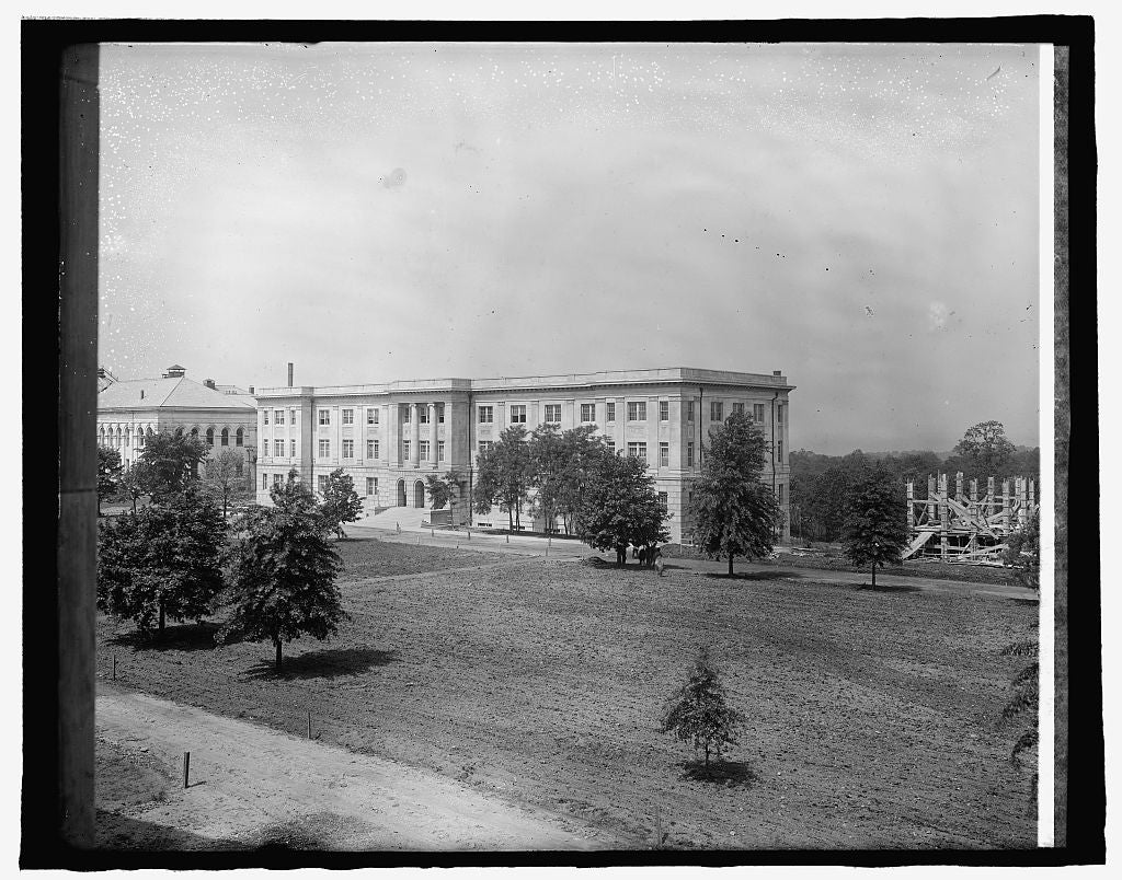 8 x 10 Reprinted Old Photo of American University, [Washington, D.C. 1917 National Photo Co  01a