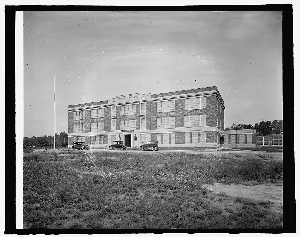 8 x 10 Reprinted Old Photo of Keefer, Washington & Lee High School, Clarendon, Va. 1917 National Photo Co  15a
