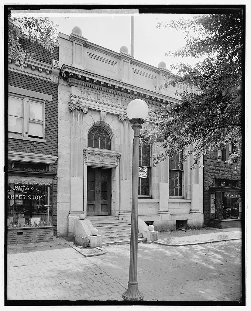8 x 10 Reprinted Old Photo of National Library for Blind 1923 National Photo Co  01a