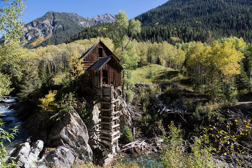 18 x 24 Photograph reprinted on fine art canvas  of Crystal Mill one of the most-photographed though most difficult to reach historic sites in Colorado r36 42267 by Highsmith, Carol M.,