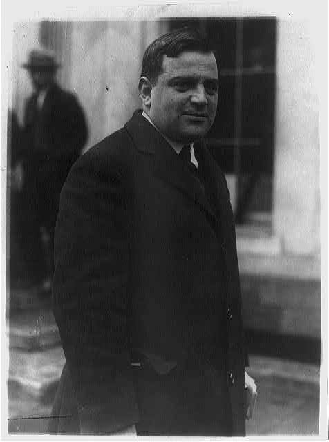 16 x 20 Reprinted Old Photo ofFiorello Henry La Guardia, 1882-1947 1923 National Photo Co  92a