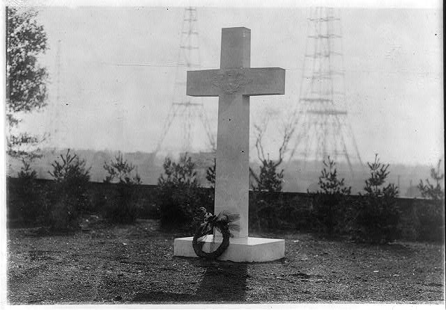 16 x 20 Reprinted Old Photo ofArgonne monument 1923 National Photo Co  81a