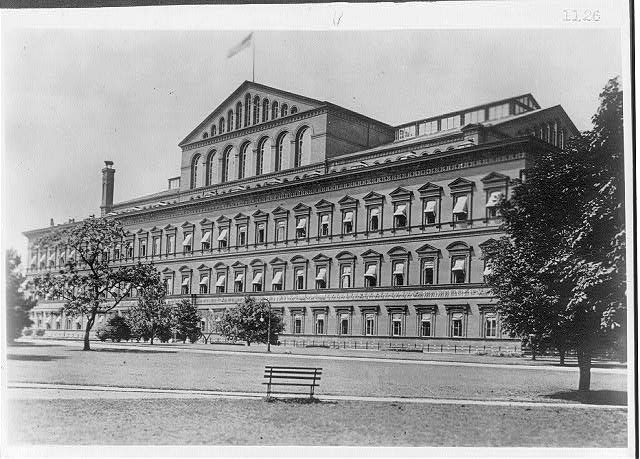 16 x 20 Reprinted Old Photo of[D.C. Wash. Pension Office bldg. view across park] 1920 National Photo Co  16a