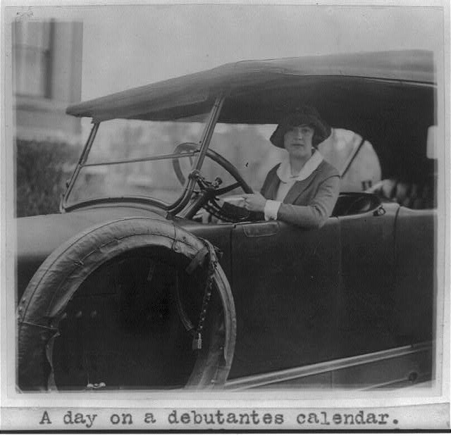 "16 x 20 Reprinted Old Photo of ""A day on a debutante's calendar"" 1922 National Photo Co  11a"
