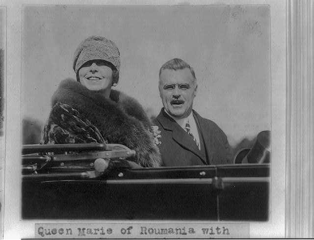 16 x 20 Reprinted Old Photo of Maria, Consort of Ferdinand I, King of Romania, 1875-1938 1926 National Photo Co  35a