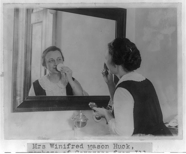 16 x 20 Reprinted Old Photo of Winifred (Mason) Huck 1923 National Photo Co  37a