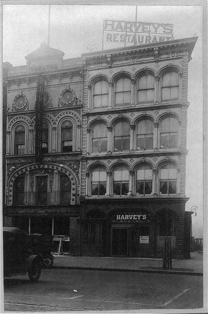 16 x 20 Reprinted Old Photo ofHarvey's Restaurant, Washingotn, D.C. 1920 National Photo Co  49a