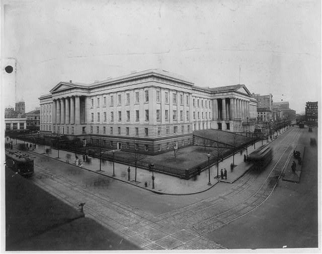 8 x 10 Reprinted Old Photo of U.S. Patent Office building, Wash., D.C. 1920 National Photo Co  47a
