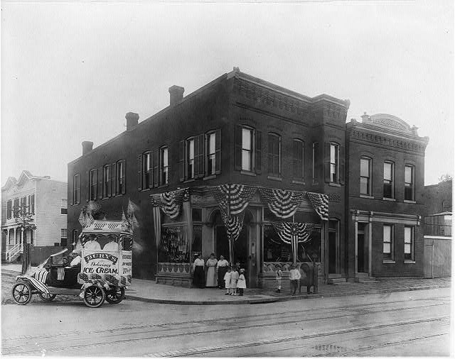 16 x 20 Reprinted Old Photo ofBury's drug store, 2200 Nichols Avenue, S.E., Anacostia, D.C. 1919 National Photo Co  72a